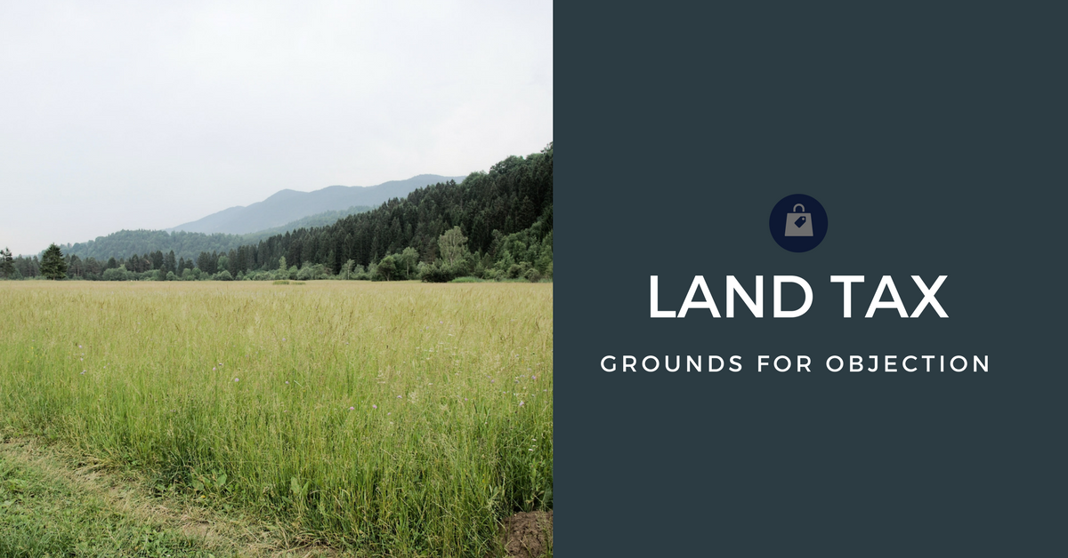 VALUATION OF LAND ACT 1960 – SECT 17 Grounds for objection